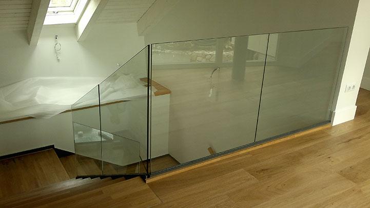 Baranda de cristal cool baranda con balaustro sistema en - Baranda de cristal ...