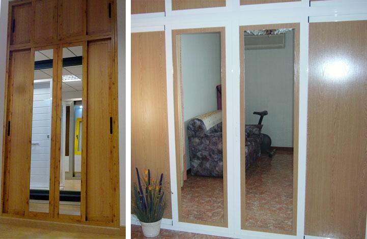 Tecnicas del aluminio manuel sevilla carpinteria de - Puertas de armarios empotrados ...